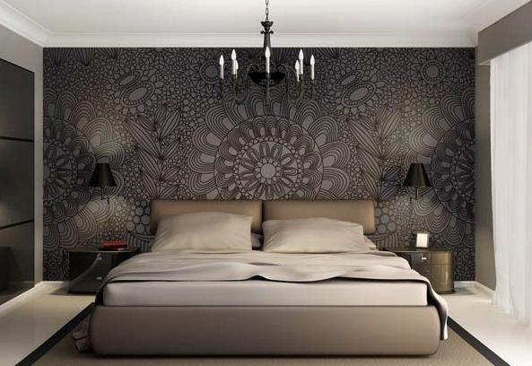 Behangen door een ervaren vakman dekor schilderwerken for Behang kamer